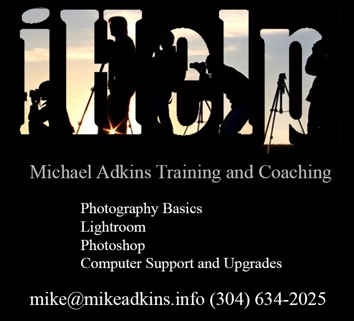 Photography Training and Coaching By Michael Adkins
