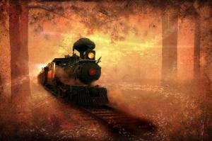 1st Place Creative - Ghost Train - by Shara Abel