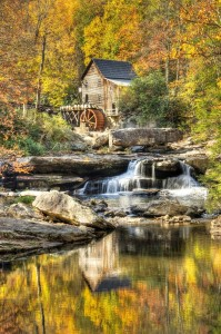 Fall Colors at the Old Grist Mill - 1st Place - Color A - Jeffri Moore