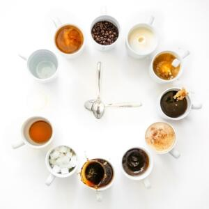 Clocks Ansa du Toit Coffee o'Clock
