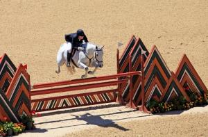 Color B - Jim Peters - 2nd place- Focused Horse rider