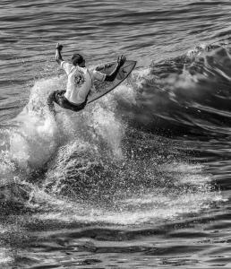 Monochrome - 3rd Place - Pat Husband - Reaching for the Top