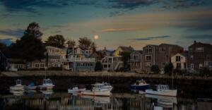 Color A – 1st Place Kathy Bargar Moonrise Over Rockport