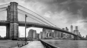 Monochromatic – 1st Place Pat Husband New York City River Walk
